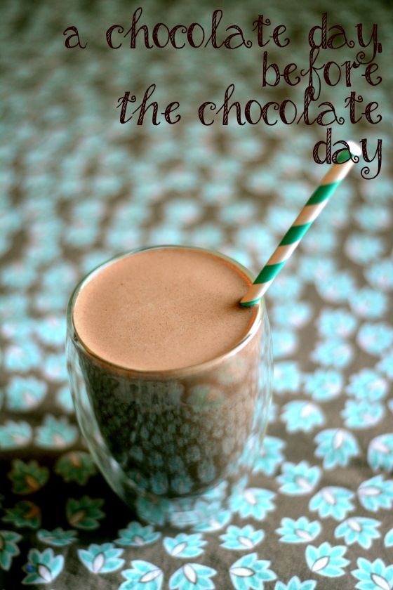 Chocolate for a Chocolate day ;)  Stay safe! Happy Martin Luther King, Jr Day!
